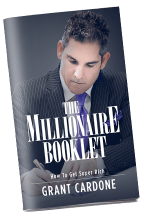 Grant cardones the millionaire booklet how to get super rich this book demanded to be written after a charity event malvernweather Image collections
